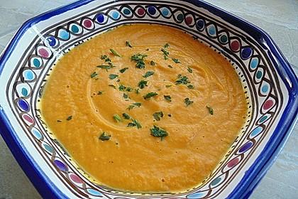 Möhren - Cremesuppe 12