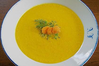 Möhren - Cremesuppe 3