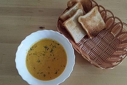 Möhren - Cremesuppe 11