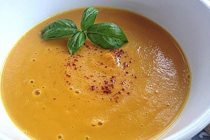 Möhren - Cremesuppe 5