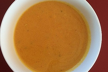 Möhren - Cremesuppe 4