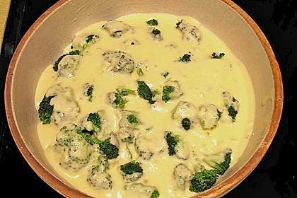Mit Parmesan überbackener Brokkoli 3