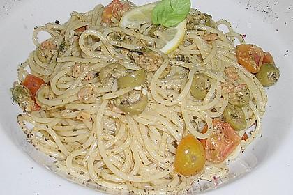 Scallops - Oliven - Spaghetti 1