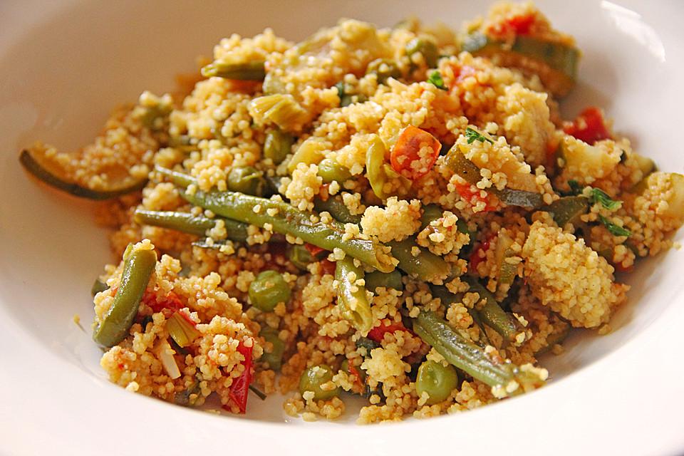 gemüse - couscous aus marokko (rezept mit bild) von bärchenmama ... - Marokkanische Küche Rezepte