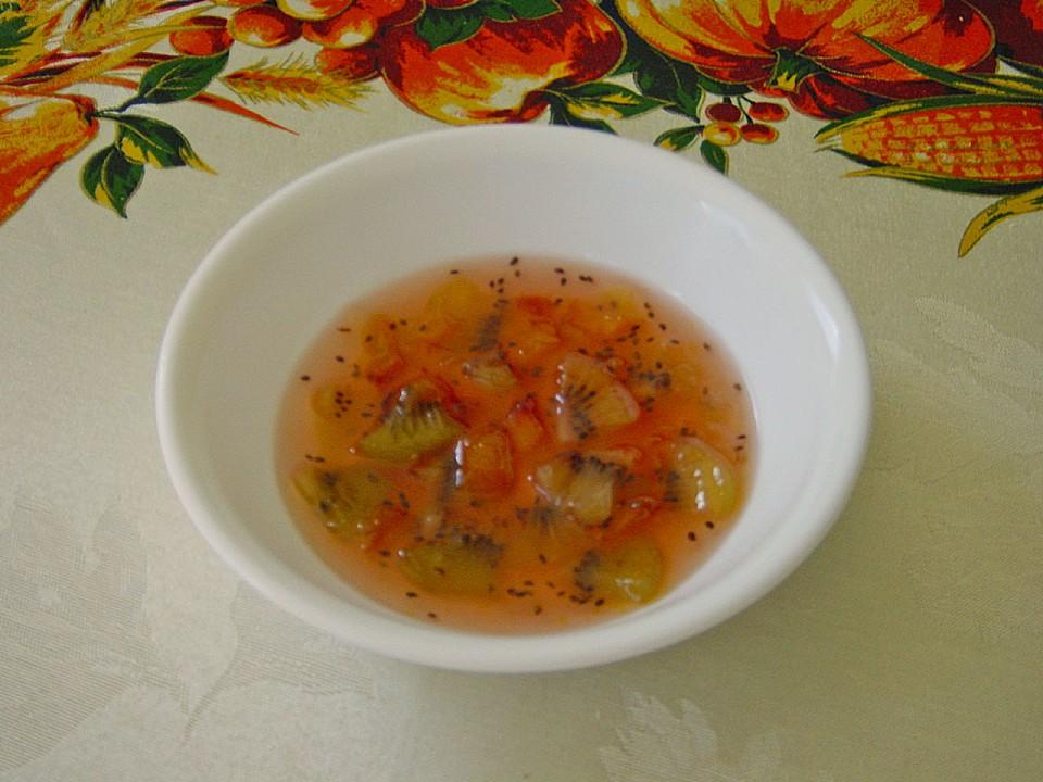 pfirsich kiwi wei wein marmelade rezept mit bild. Black Bedroom Furniture Sets. Home Design Ideas