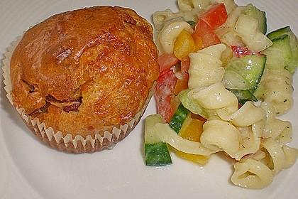 Käse - Salami - Muffins