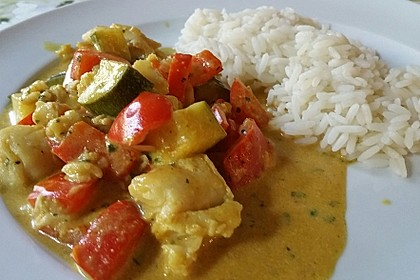 Curry-Fisch Ragout 5