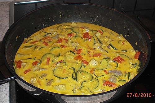 Curry-Fisch Ragout 1