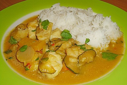 Curry-Fisch Ragout 4
