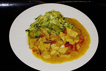 Curry-Fisch Ragout 8