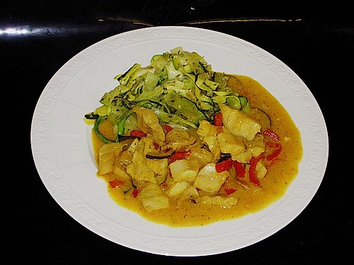 Curry-Fisch Ragout 10