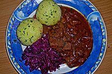 Wildschwein - Zwiebel - Gulasch