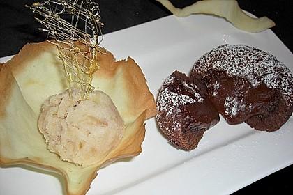 Warmer Schokoladenkuchen 1