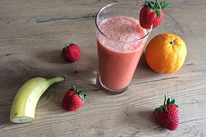 Erdbeer - Smoothie 7