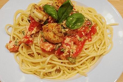 Spaghetti mit Cocktailtomaten 79