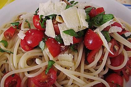 Spaghetti mit Cocktailtomaten 6