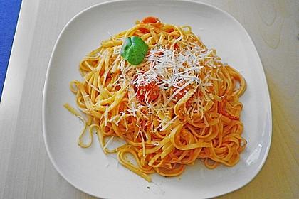Spaghetti mit Cocktailtomaten 40