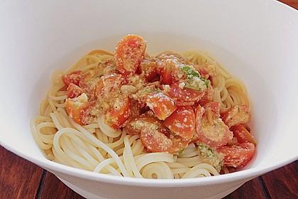 Spaghetti mit Cocktailtomaten 43