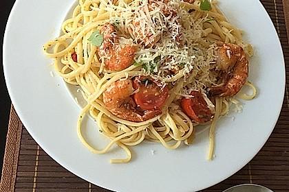 Spaghetti mit Cocktailtomaten 17