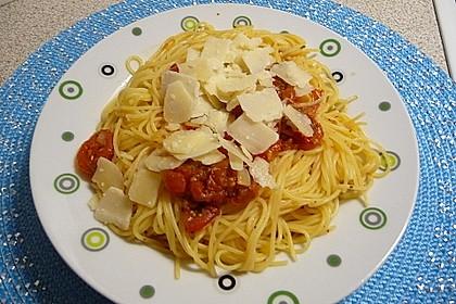 Spaghetti mit Cocktailtomaten 19
