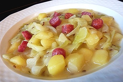 Spitzkohl-Kartoffeleintopf 1