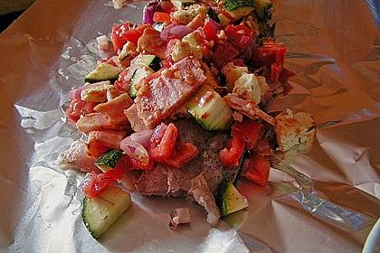 Zypriotischer Folienfisch mit dem Flair Italiens 1