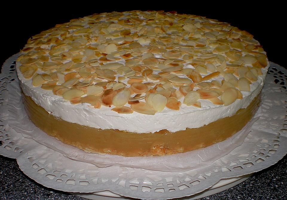 Kuchen sahne apfelmus