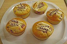 Himbeer - Frischkäse - Muffins
