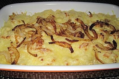 Käsespätzle mit Zwiebeln 1