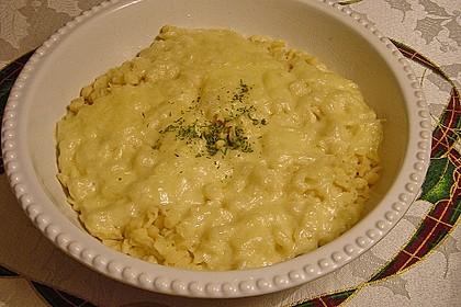 Käsespätzle mit Zwiebeln 12