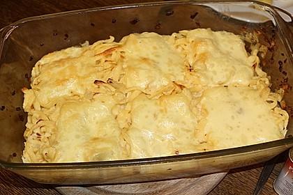 Käsespätzle mit Zwiebeln 13