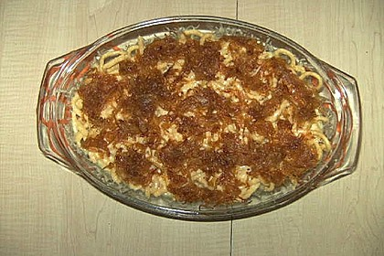 Käsespätzle mit Zwiebeln 4