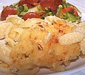 Käsespätzle mit Zwiebeln
