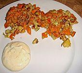 Gemüsefrikadellen (Bild)