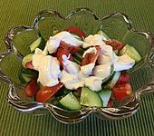 Tomaten - Gurken - Salat