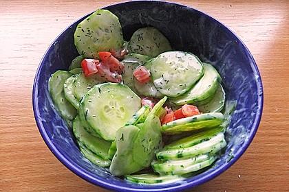Tomaten - Gurken - Salat 3