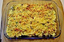 Rosenkohl mit Kartoffelhaube
