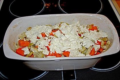 Süßkartoffel - Kartoffel - Fenchel - Auflauf 10