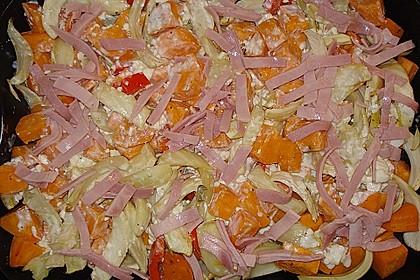 Süßkartoffel - Kartoffel - Fenchel - Auflauf 20