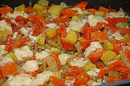 Süßkartoffel - Kartoffel - Fenchel - Auflauf