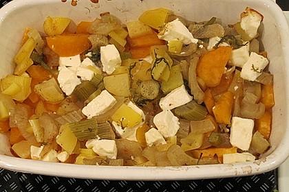 Süßkartoffel - Kartoffel - Fenchel - Auflauf 14