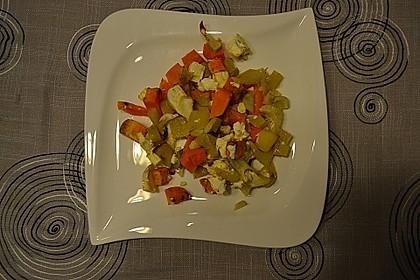 Süßkartoffel - Kartoffel - Fenchel - Auflauf 13