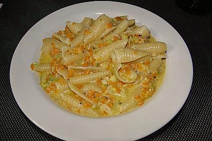 Pasta mit Kräutersauce 15