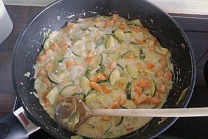 Pasta mit Kräutersauce 26