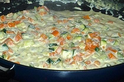 Pasta mit Kräutersauce 27