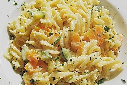 Pasta mit Kräutersauce 3