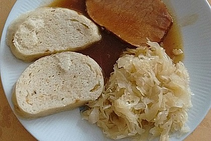 Kasseler mit Sauerkraut 9