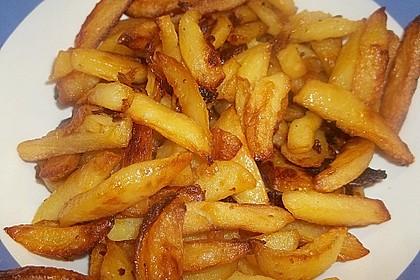 Selbstgemachte Pommes aus dem Backofen 16