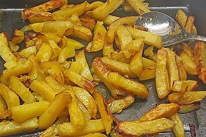 Selbstgemachte Pommes aus dem Backofen 14