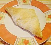 Blätterteig - Bananentasche (Bild)